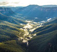 Valley mists by Bruce Reardon