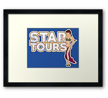 A Tour Around The Stars Framed Print