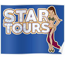 A Tour Around The Stars Poster