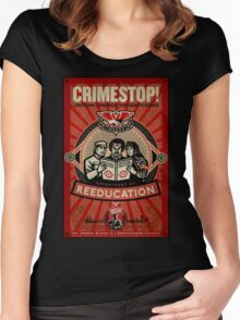 INGSOC 1984 Thoughtcrime Women's Fitted Scoop T-Shirt