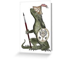 Dragon Artist Greeting Card