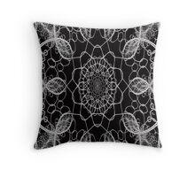 Chainlink Kaleidoscope Throw Pillow