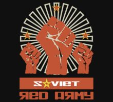 SOVIET RED ARMY 3 FISTS by madeofthoughts