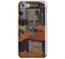 Ribeira Houses, Porto, Portugal iPhone Case/Skin