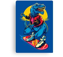 Rex to the Future Canvas Print