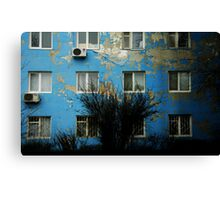 a geography class Canvas Print