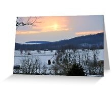 Ice Farm Greeting Card