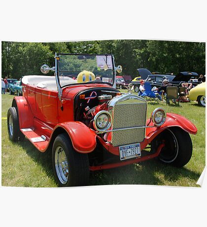 Ford 1927 Roadster Poster