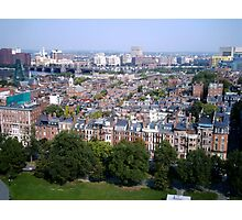 Boston Beacon Hill Photographic Print