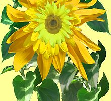 Exuberant Sunflowers by DAdeSimone