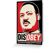 Martin Luther King Civil Disobedience Shirts Greeting Card
