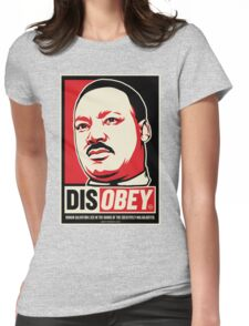 Martin Luther King Civil Disobedience Shirts Womens Fitted T-Shirt