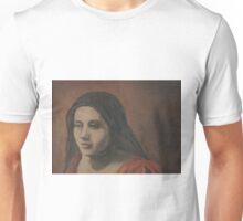 Girl on Balcony Unisex T-Shirt