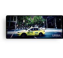 URBIA - Taxi Canvas Print
