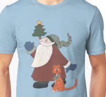 Juggling Santa Unisex T-Shirt