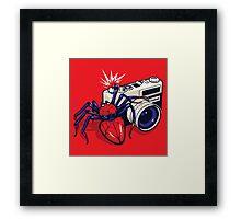 Spider Shot Framed Print