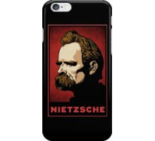 Nietzsche Print iPhone Case/Skin