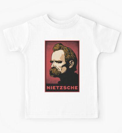 Nietzsche Print Kids Clothes
