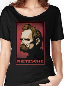 Nietzsche Print Women's Relaxed Fit T-Shirt