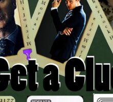 Get A Clue Sticker