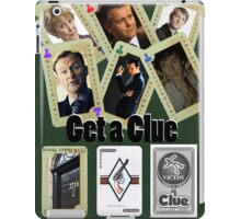 Get A Clue iPad Case/Skin