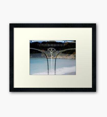 Beach Companion Framed Print