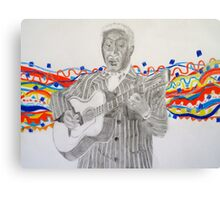 Leadbelly Canvas Print