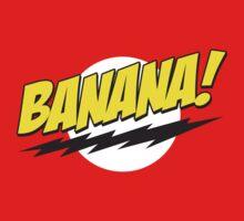 Banana! Lightning Logo T Shirt by bitsnbobs