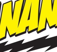 Banana! Lightning Logo T Shirt Sticker