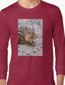Funny Chipmunk Long Sleeve T-Shirt
