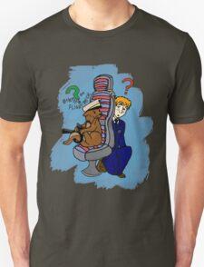Otters on the Flight Deck Unisex T-Shirt