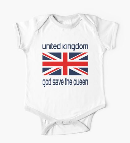 God Save the Queen One Piece - Short Sleeve