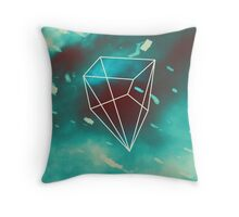 Geometry and Colors VI Throw Pillow