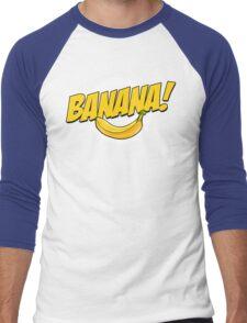 Banana Logo T Shirt Men's Baseball ¾ T-Shirt