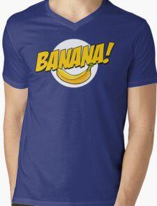 Banana Logo T Shirt Mens V-Neck T-Shirt
