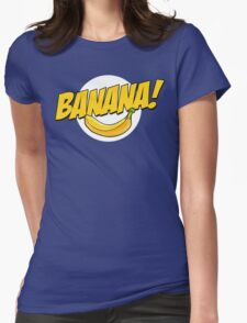 Banana Logo T Shirt Womens Fitted T-Shirt