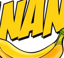 Banana Logo T Shirt Sticker