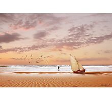 Soft Sunrise on the Beach 7 Photographic Print