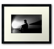 Alien Contemplation  Framed Print