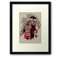BubblEye Gum Framed Print