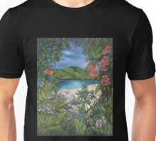 """Tropical Tranquility"" Unisex T-Shirt"