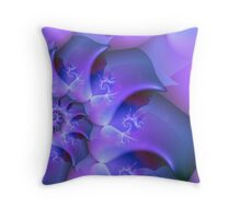 Lilac Moods Throw Pillow