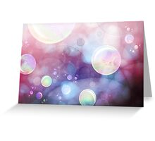 Soapbubbles in Wonderland Greeting Card