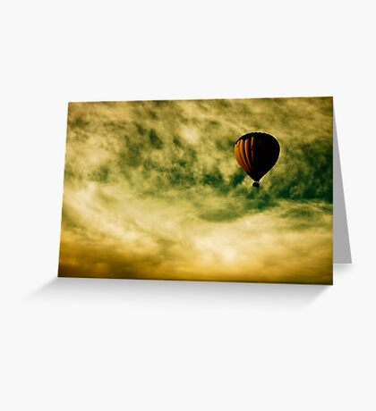 Escapism Greeting Card