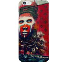 Amazonian Indian- street art iPhone Case/Skin