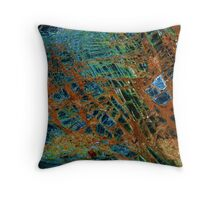 Jewel landscape  Throw Pillow
