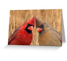 Two heads are better than one! Greeting Card