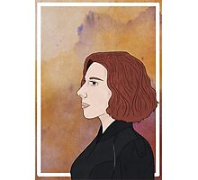 Black Widow - Portrait Photographic Print