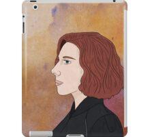 Black Widow - Portrait iPad Case/Skin