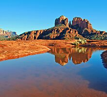 Red Rock Reflection by ParkDG